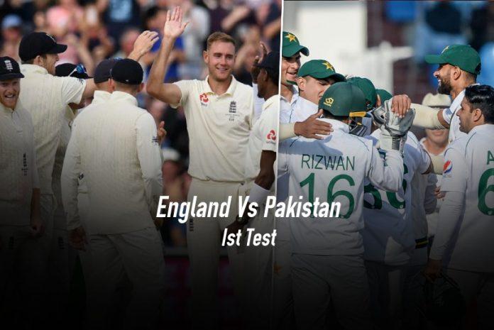 इंल्याण्ड र पाकिस्तान बिचको पहिलो टेस्ट आज