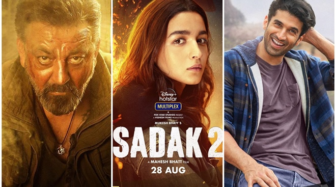Alia Bhatt's Sadak 2 becomes 'most disliked' movie trailer on YouTube