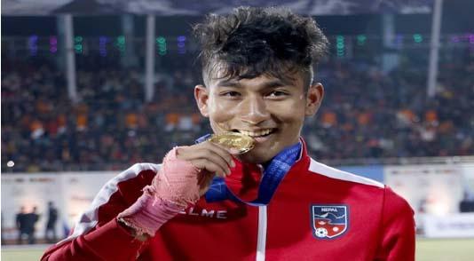 नेपाली फुटबल खेलाडी राजेश परियार भारतीय क्लबमा अनुबन्धित