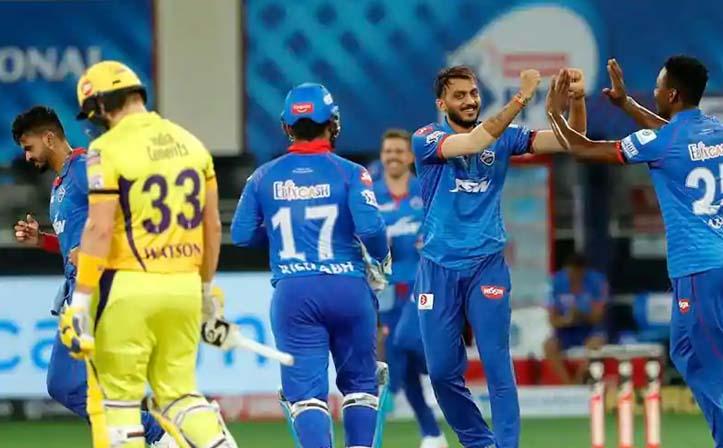 दिल्लीको लगातार दोस्रो जित, चेन्नाई ४४ रनले पराजित