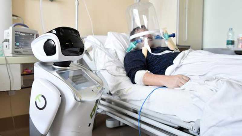 इलामका युवाहरुले बनाए कोरोना अस्पतालमा प्रयोग गर्नका लागि रोबोट