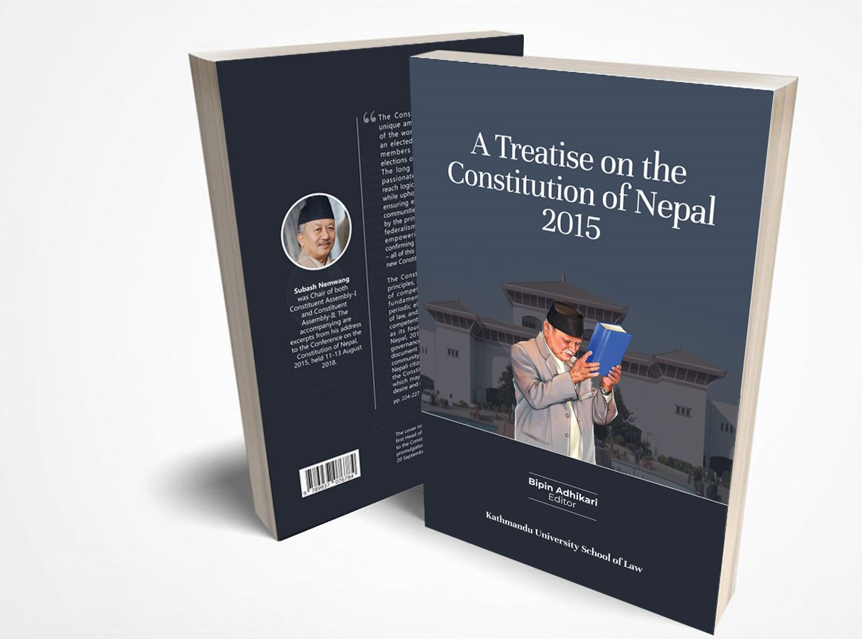 Prime Minister Launches A Treatise on the Constitution of Nepal, 2015