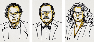 यस वर्षको भौतिक शास्त्र तर्फको नोवेल पुरस्कार ३ जना बैज्ञानिकले पाउने