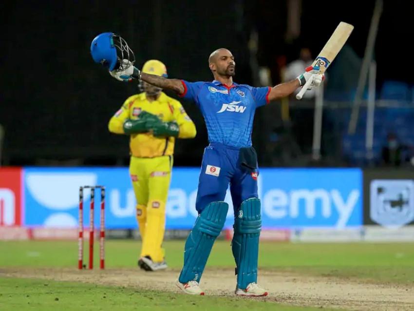 शिखर धवनको सतकमा दिल्ली ५ विकेटले विजयी, उक्लियो शिर्ष स्थानमा