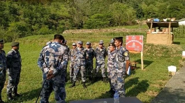 हुम्लामा पहिलोपटक गाउँगाउँमा सुरक्षा गस्ती शुरु
