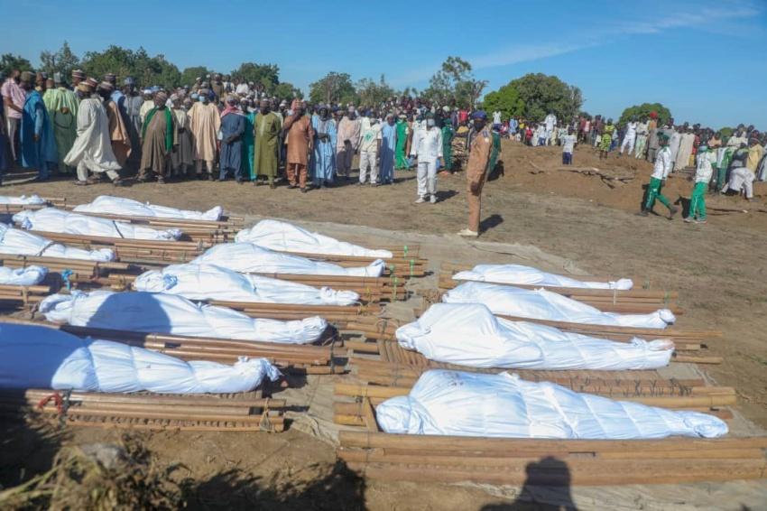 बोको हरामद्वारा ४३ जना किसानको हत्या