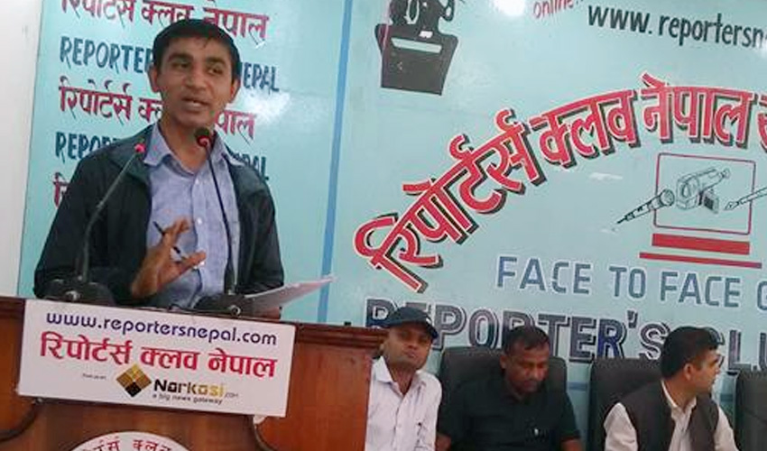 अखिल छैठौंका अध्यक्ष पोखरेल भन्छन् – प्रचण्ड–नेपाल आन्दोलन होइन सत्ता बार्गेनिङ्गमा छन्
