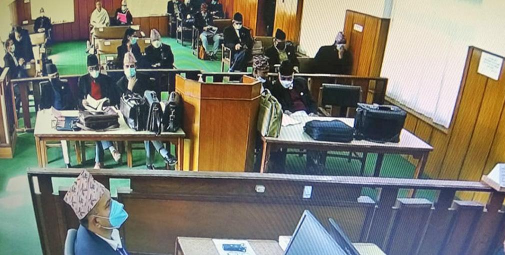 संसद विघटनसम्बन्धी मुद्दा : शुक्रबारको सुनुवाई सुरु