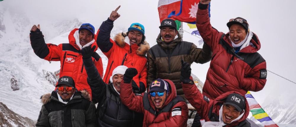 'केटू' आरोहण गर्ने कीर्तिमानी आरोहीलाई काठमाडौँमा भव्य स्वागत