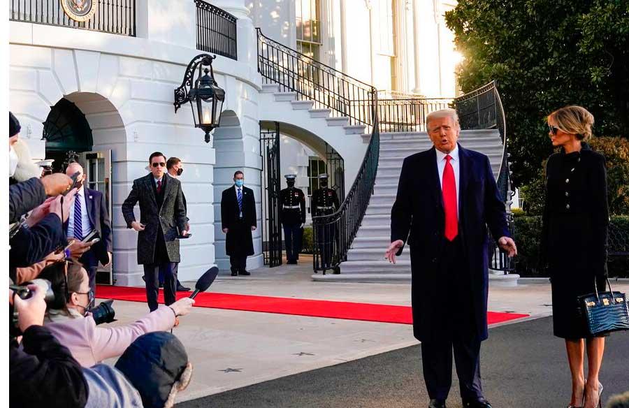 ह्वाइट हाउस छोड्नुभन्दा पहिले ट्रम्पले लेखे राष्ट्रपति बाइडेनका लागि यस्तो पत्र