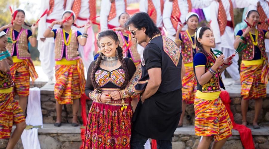 राजेश र निताको 'आफ्नै नाम मन प¥यो' सार्वजनिक (भिडियो)