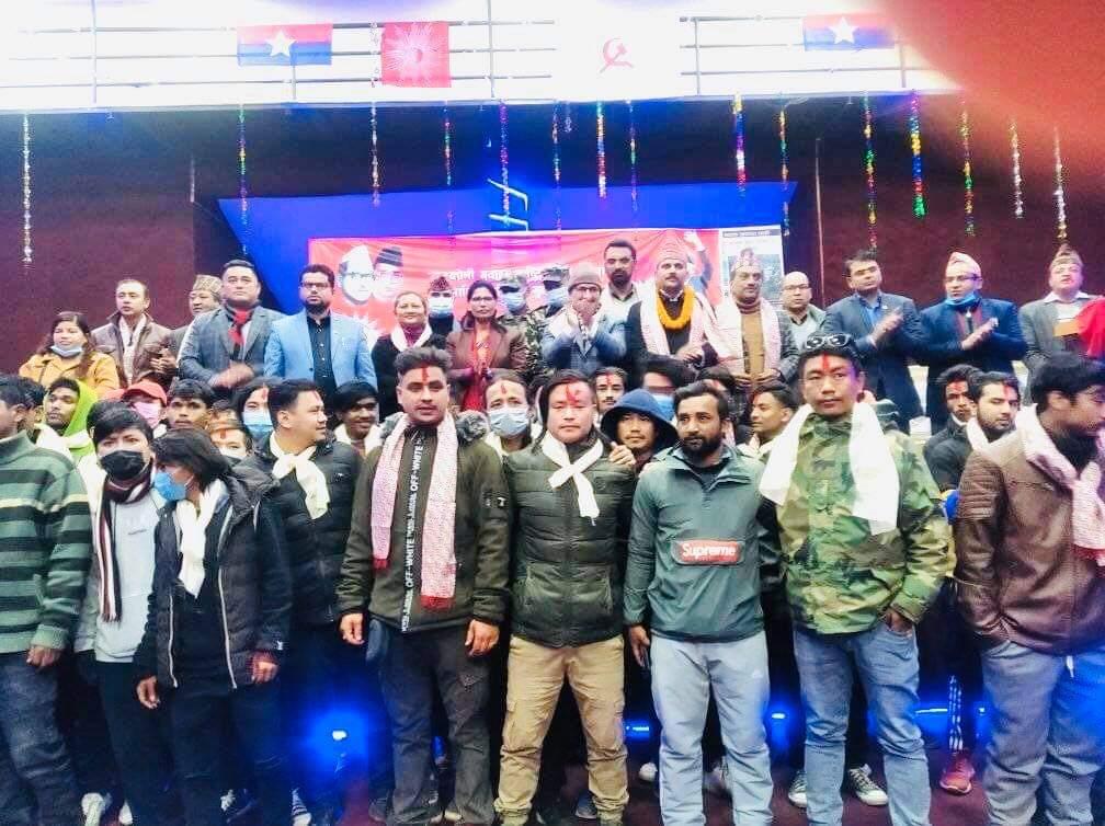 तरुण दलवाट ५० जना युवाहरुको प्रवेश गराउंदै युवा संघको भेला सप्पन्न