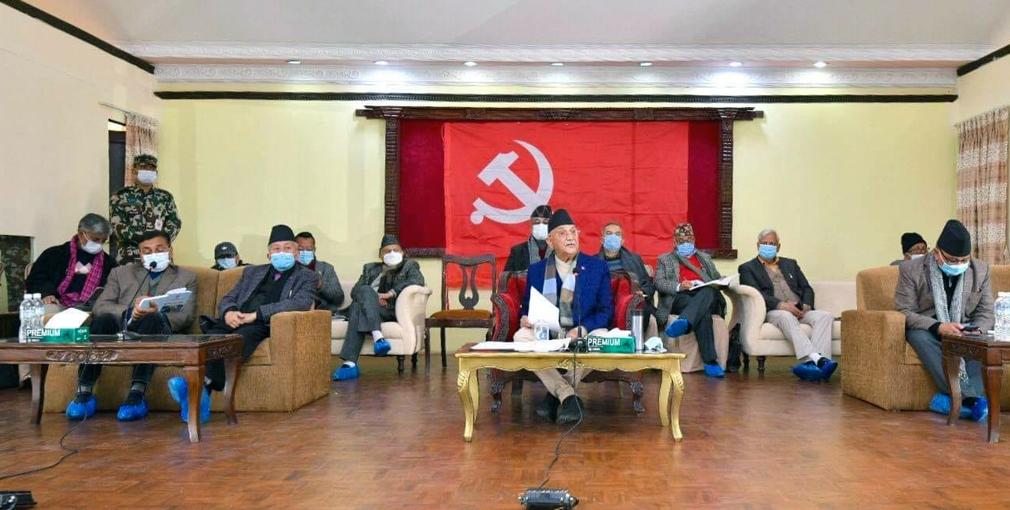 एमाले स्थायी समिति बैठक बस्दै, पार्टी विवादबारे ठोस निर्णय गर्ने तयारी