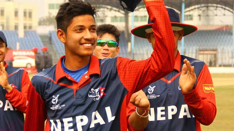 मेयर कप एक दिवसीय पुरुष क्रिकेटमा सन्दीप लामिछानेले कप्तानी गर्दै