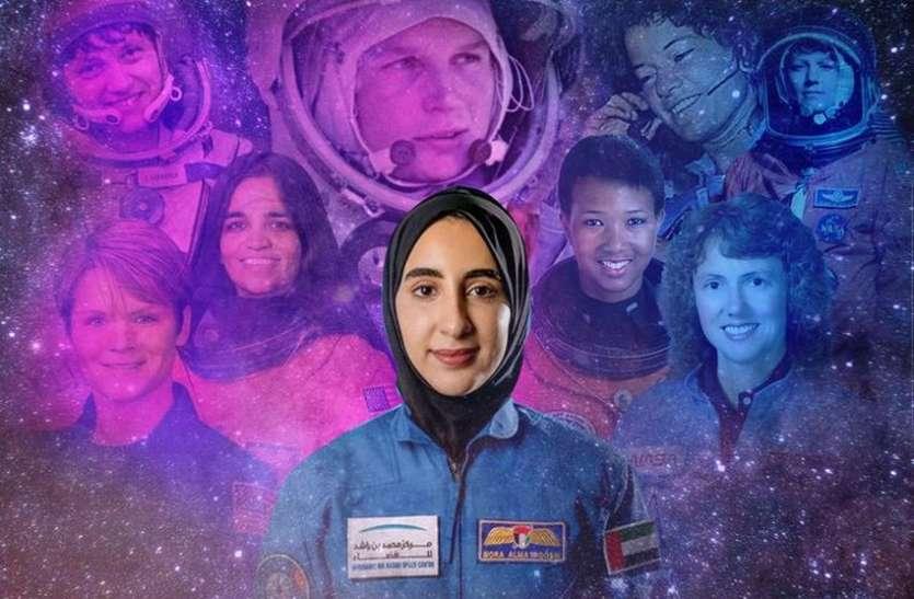 अल मतरुसी सँगै ६५ जना महिलाहरुले अन्तरिक्ष यात्रा गर्ने