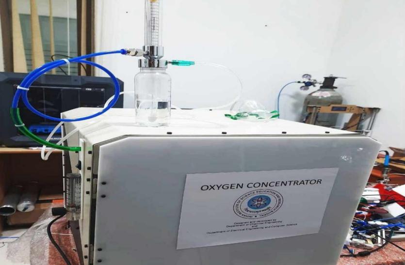 बैज्ञानिकले १ मिनेटमा ३ लिटर उत्पादन गर्ने सस्तो अक्सिजन कन्सनट्रेटर बनाए