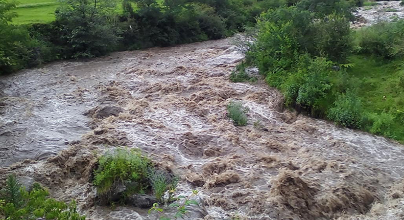 बूढीगङ्गा नदीको कटानका कारण दर्जनौँ बस्ती जोखिममा