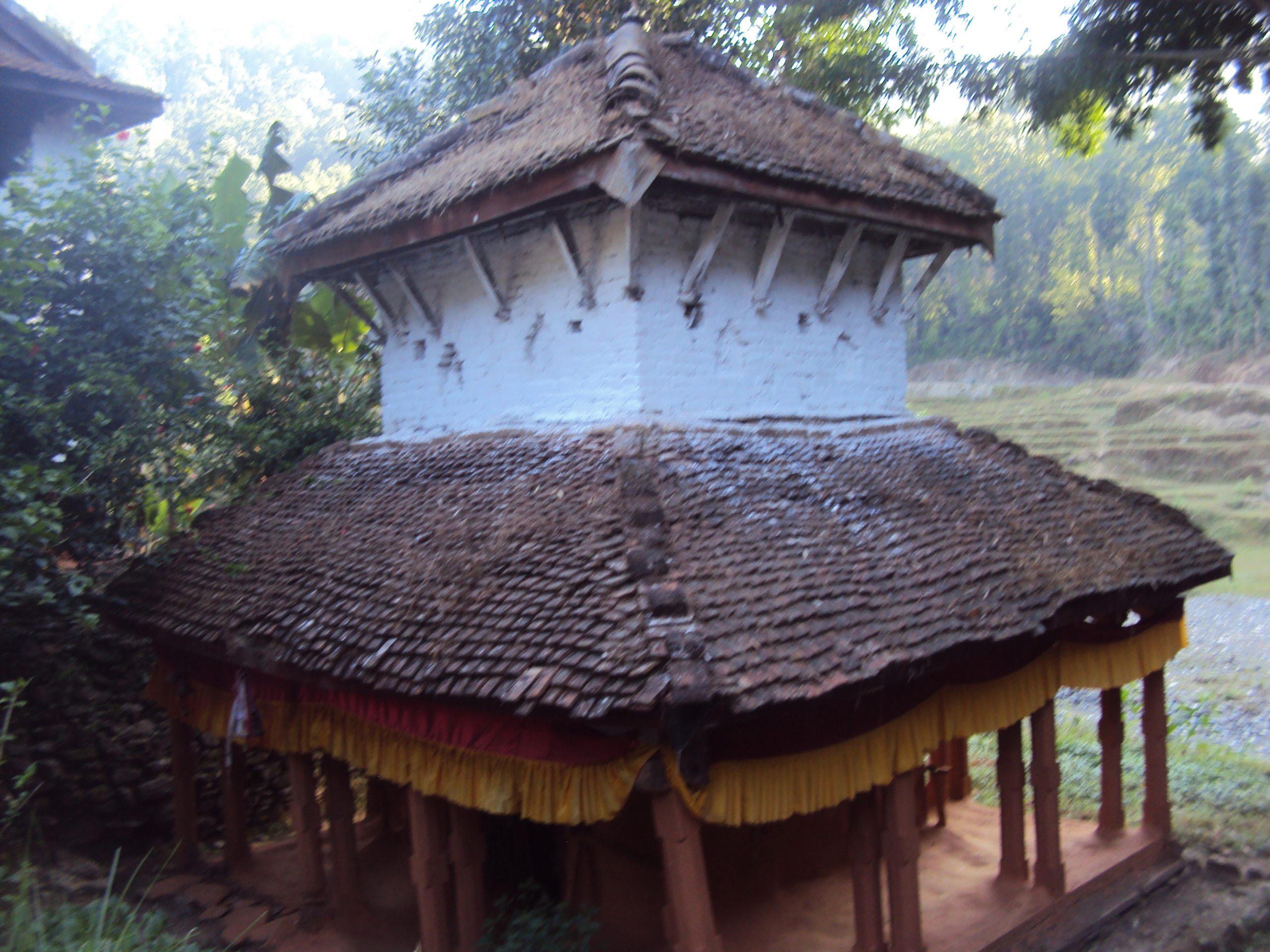 ज्वाला बलिरहने नाभिस्थान मन्दिर पुन: निर्माण