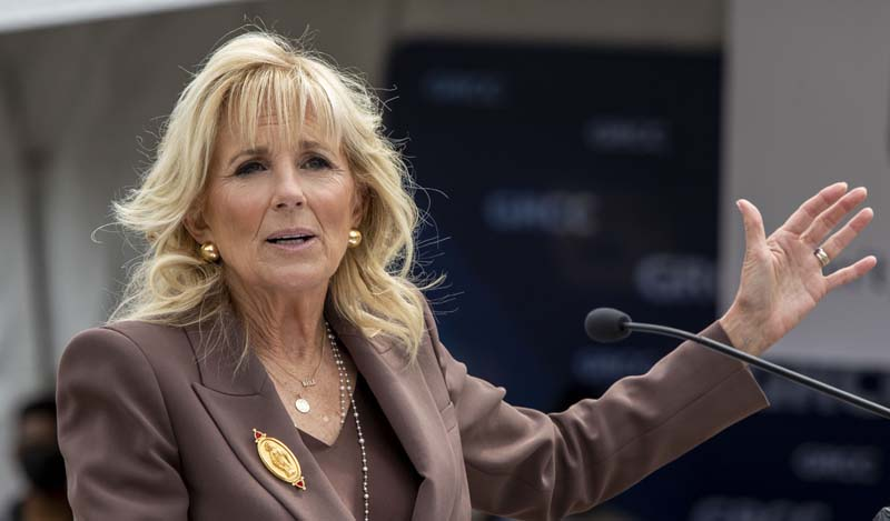 US first lady Jill Biden to attend Tokyo Olympics opening ceremony