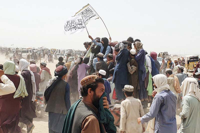 Taliban claim control of key border crossing with Pakistan